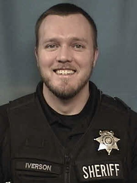 COURTESY PHOTO - Deputy Chris Iverson of the Washington County Sheriff's Office was treated and released from an area hospital Thursday, Aug. 8, after he was reportedly shot and injured in the woods near Henry Hagg Lake.