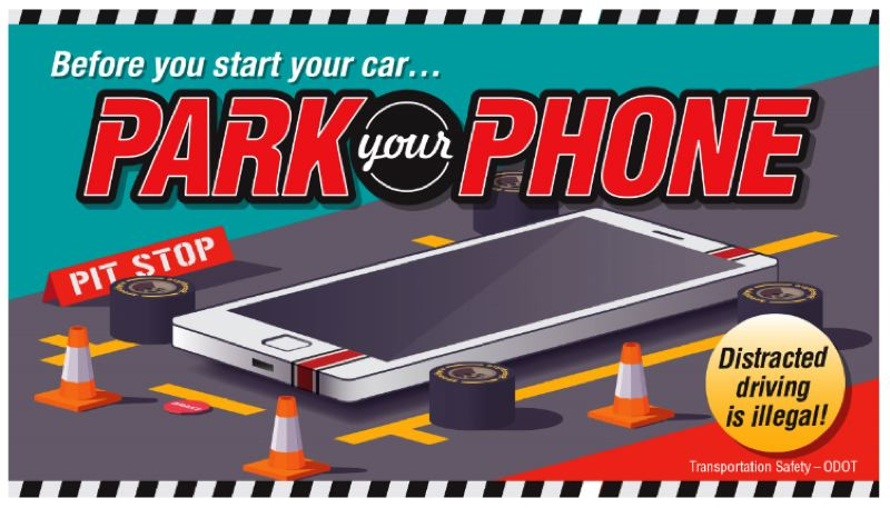 COURTESY ODOT - The Grand Prix of Portland IndyCar race has joined forces with the Oregon Department of Transportation to fight distracted driving.