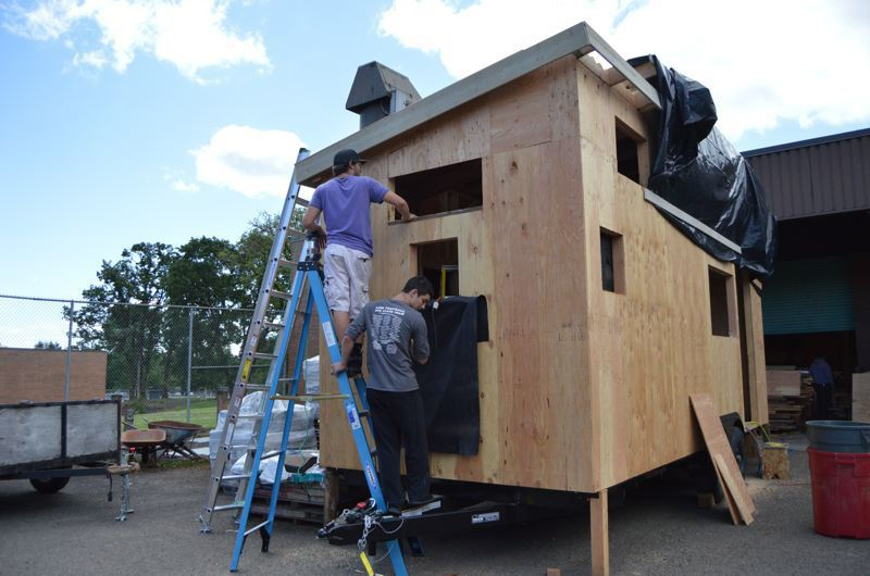 PMG FILE PHOTO - Tiny houses could be one way to provide homes for people living on the street.