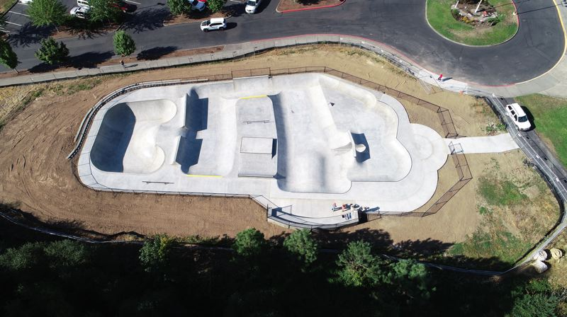 COURTESY PHOTO: CITY OF SHERWOOD - The Sherwood Skate Park will be opening in September.