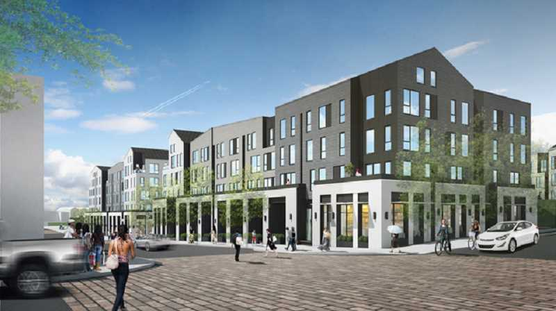 COURTESY PHOTO: YBA ARCHITECTS - The Alta Civic Station development will bring 318 residential units into the city.