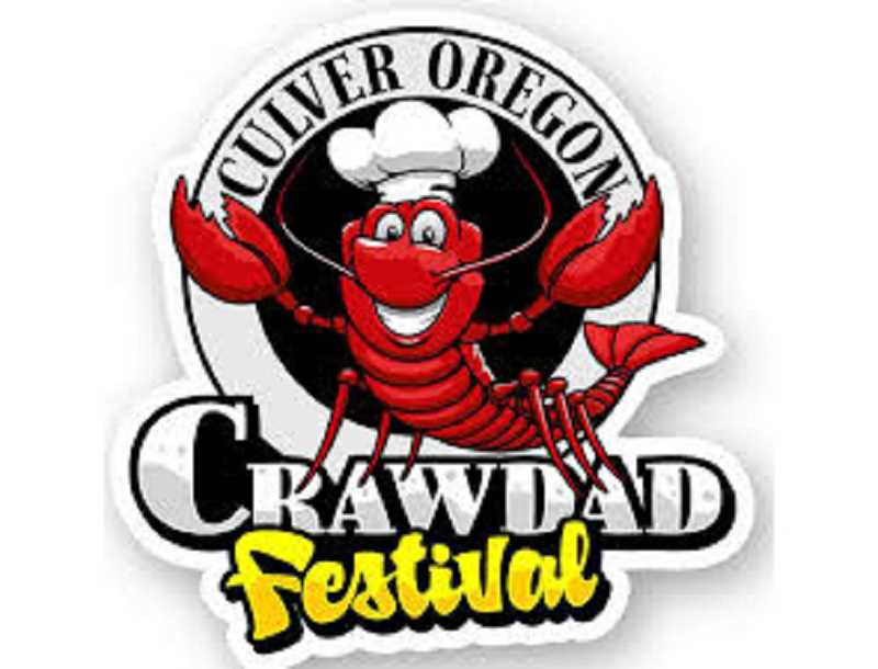 SUBMITTED LOGO - The Culver Crawdad Festival takes off Saturday, Aug. 17, with a parade, activities in the park, and the famous crawdad dinner.