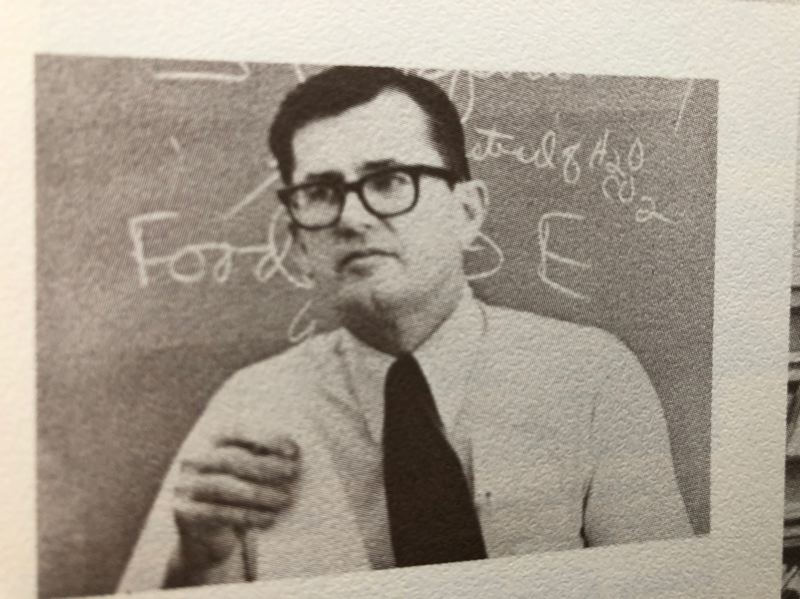 COURTESY: ST. HELENS HIGH SCHOOL - The classroom was where biology teacher Gene Strehlou connected with even non-athletes at St. Helens High.