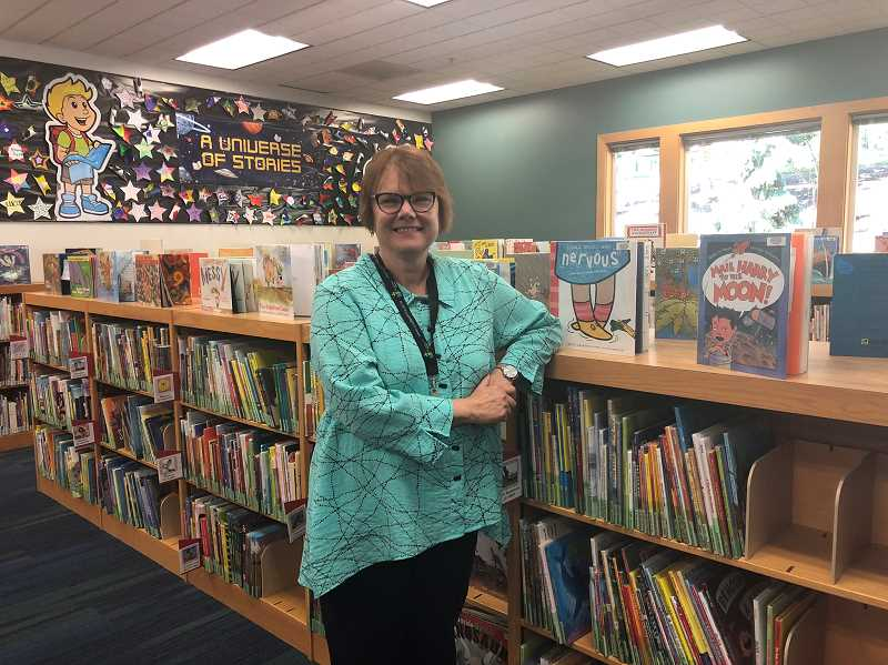 PMG PHOTO: COREY BUCHANAN - Jo Caisse accepted the position of youth services librarian at the Wilsonville Public Library.