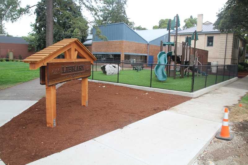 PMG PHOTO: JUSTIN MUCH - Woodburn City Council will hold a meeting/community barbecue on Monday, Aug. 26, which will include ribbon cuttings to celebrate a renovated city hall, public library park and First Street improvements.