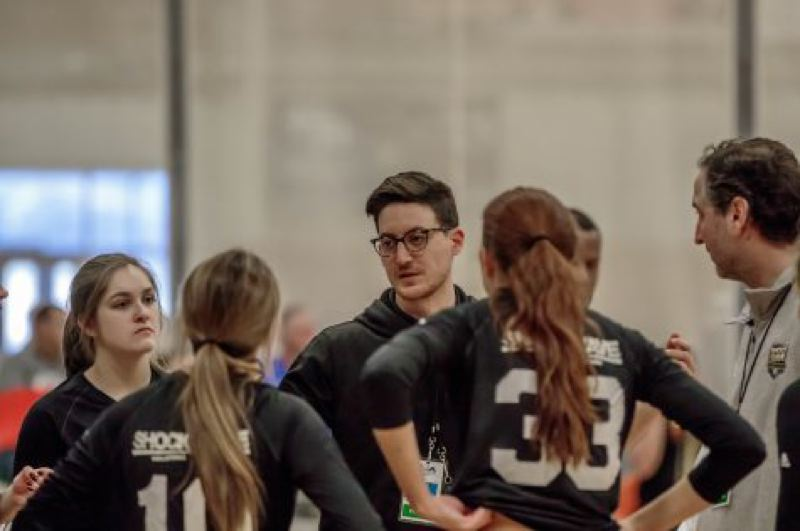 COURTESY PHOTO: MATT COGHLAN - Southridge head volleyball coach Matt Coghlan was hired after extensive experience coaching at the club and collegiate level.