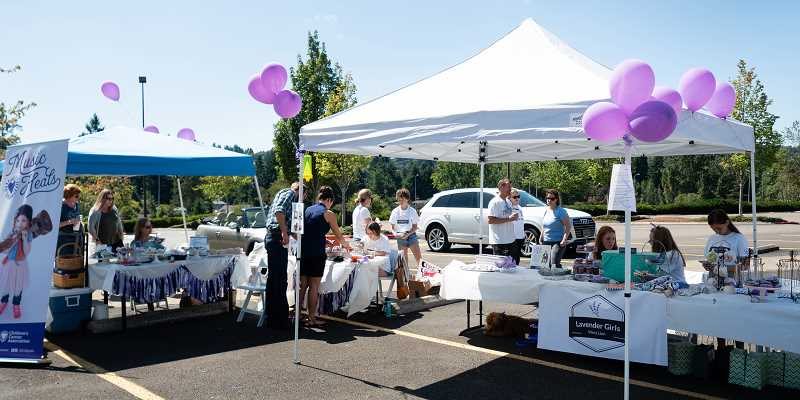 PMG PHOTO: KIT  MACAVOY - The Lavender Girls annual sale took place Saturday, Aug. 17, and Sunday, Aug. 18, in West Linn and was open to the public.