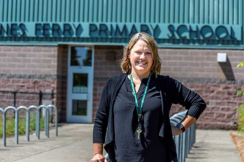 PMG PHOTO: CLARA HOWELL  - Michelle Jensen is Boones Ferry Primary's new principal.