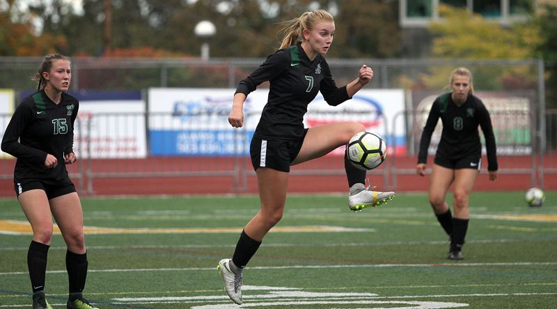 PMG PHOTO: MILES VANCE - West Linn's Rosie Larsen and the Lions were one of the state's best teams a year ago but will face challenges on some of the red letter days that lie ahead in 2019.