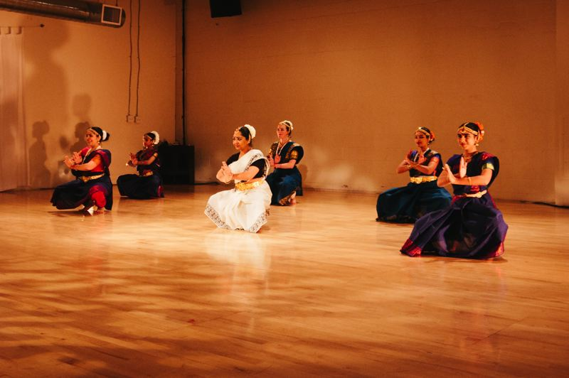 COURTESY PHOTO  - A Celebration of Classical Indian Arts: Dance, Music and Poetry at the Gresham Library will feature five dance styles from across India performed by multi-generational dancers from the Portland area.