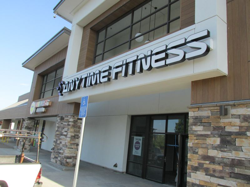 PMG PHOTO: SHANNON O. WELLS - Anytime Fitness, a fitness center franchise that will be staffed 24/7, is set to open soon at 26940 S.E. Stark St. in Troutdale Marketplace.
