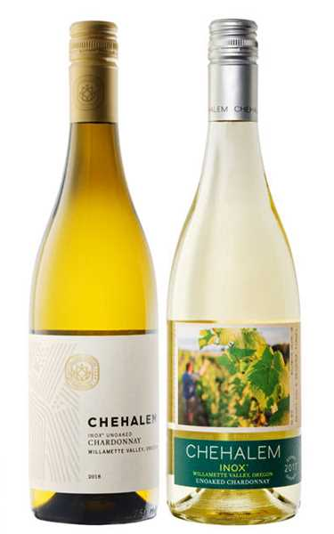 SUBMITTED PHOTO - Chehalem Winery recently earned an award for best packaging redesign at a California competition.