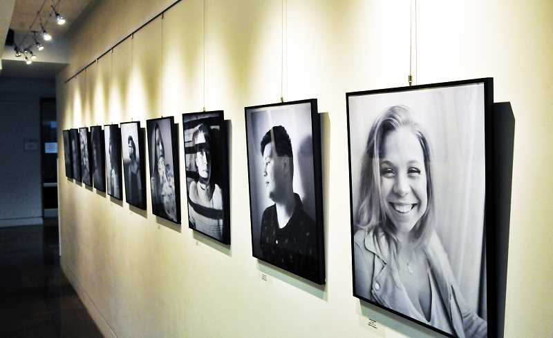 GRAPHIC PHOTO: GARY ALLEN - 'A Glimpse at Humanity,' Jessica Holder's exhibit of photography, will be on display at the Chehalem Cultural Center through November.