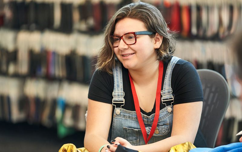 COURTESY PHOTO - Hillsboro resident Desiree Castillo has overcome diabetes, celiac disease and depression. She now hopes to inspire others by designing a sneaker for the Doernbecher Freestyle Program.