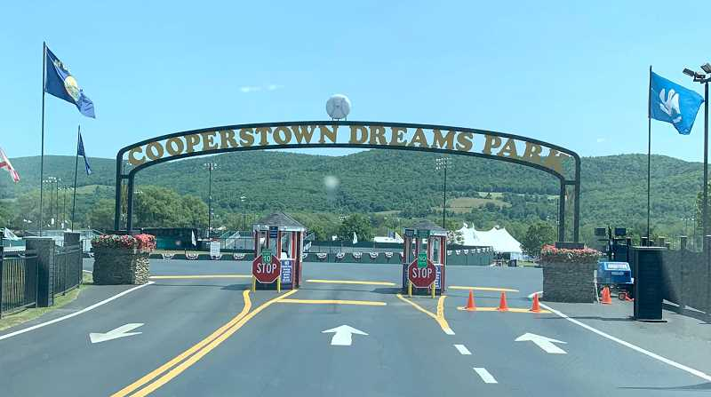SUBMITTED PHOTO - A local Central Oregon baseball player, Hayden Forman, was able to go on a once-in-a-lifetime trip to Cooperstown, a town in Otsego County, New York  Aug. 3-9.