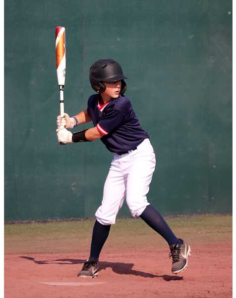 SUBMITTED PHOTO - Hayden Forman, son of Steve and Sandy Forman, former Madras residents,  plays at Cooperstown Dreams Park in New York Aug. 3-9.