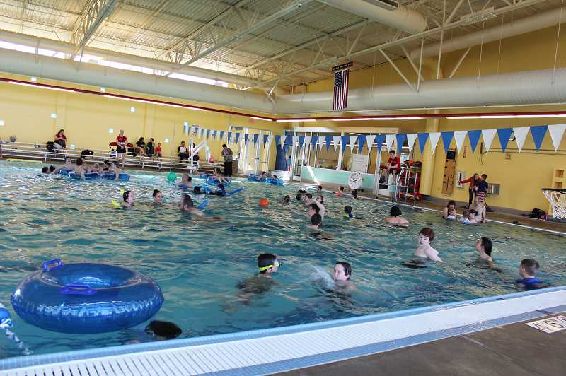 PMG FILE PHOTO: KRISTEN WOHLERS - The Molalla Aquatic Center, located at 432 Frances St. in Molalla, is collecting school supplies and offering those who donate a raffle ticket for a 3-month swim pass. MAC is also holding a pool party Aug. 24.