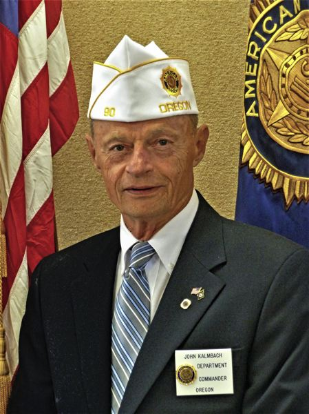 COURTESY PHOTO - Retired U.S. Army Sgt. Major John Kalmbach served as post commander of American Legion Post 90 in Banks and department commander of the American Legion in Oregon. He died in April.