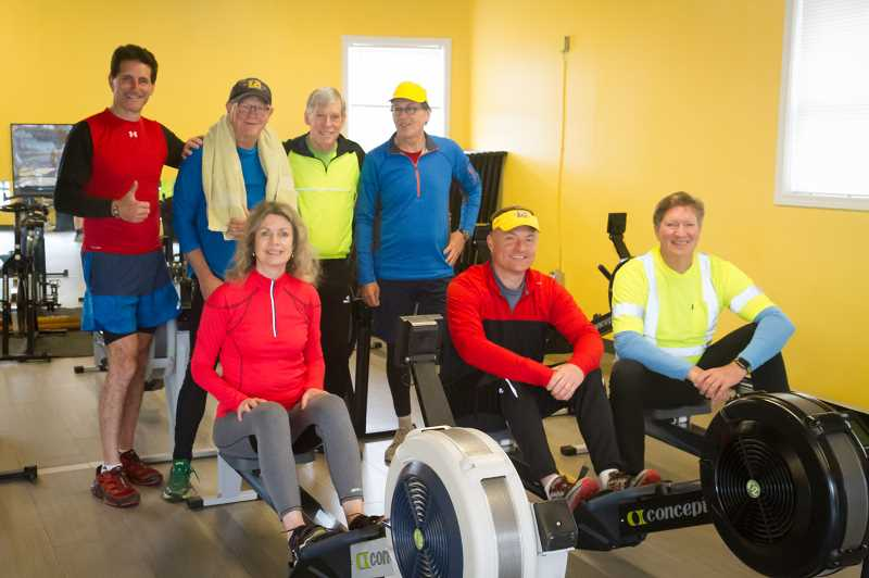 COURTESY PHOTO  - Join the new RowFit class being offered through Lake Oswego Parks and Recreation. It combines rowing and calistenics for whole body fitness.