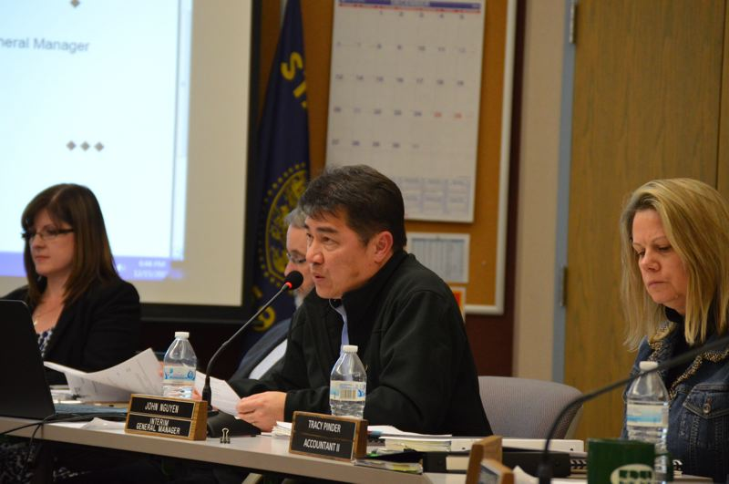 PMG FILE PHOTO - John Nguyen, CRPUD's general manager, speaks at a meeting in 2015.