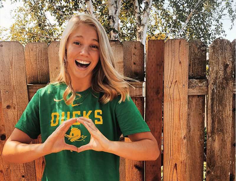 COURTESY PHOTO - Canby's Daley McClellan has committed to play volleyball at the University of Oregon.