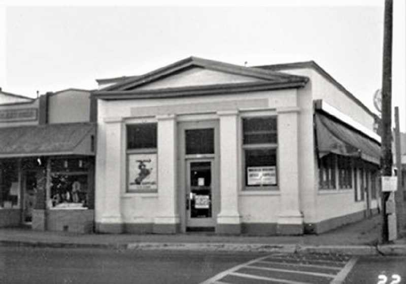 COURTESY PHOTO: GAIL MCCORMICK - The Molalla State Bank Building today anchors the historical four corners of Molalla.  It is one of the main historical buildings in town and is in excellent condition.