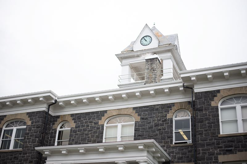 PMG PHOTO: ANNA DEL SAVIO - Columbia County's specialty courts take place in the Columbia County Courthouse in St. Helens. The specialty courts aim to rehabilitate offenders more than a short jail sentence, but state funding for the programs has been cut.