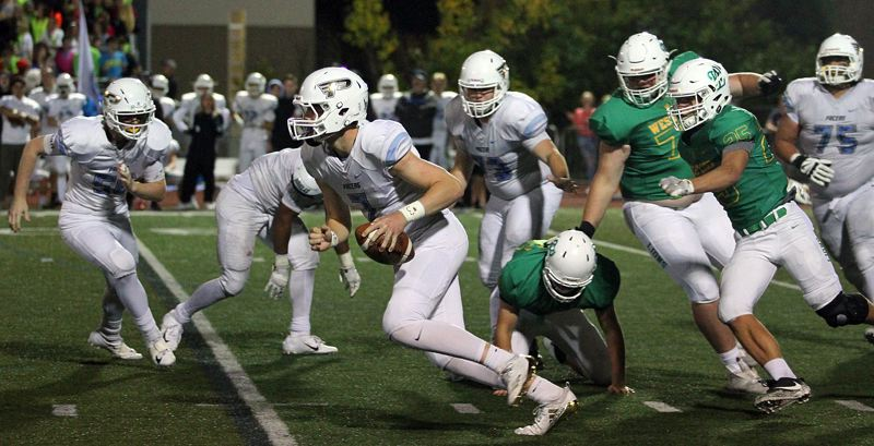 PMG PHOTO: MILES VANCE - Lakeridge senior quarterback Cooper Justice takes the reins of the Pacers offense this fall and hopes to prove himself to Special District 5 and the rest of the state.