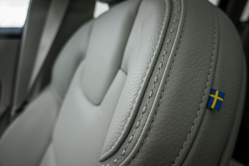 COURTESY VOLVO - The thickly padded front bucket seats are among the most comfortable Volvo has ever designed.