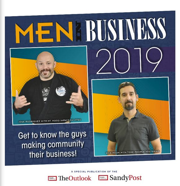 (Image is Clickable Link) Men in Business 2019 - Outlook / Sandy Post