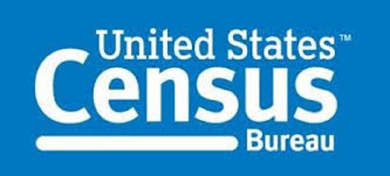 COURTESY OF THE US CENSUS BUREAU - US Census Bureau logo