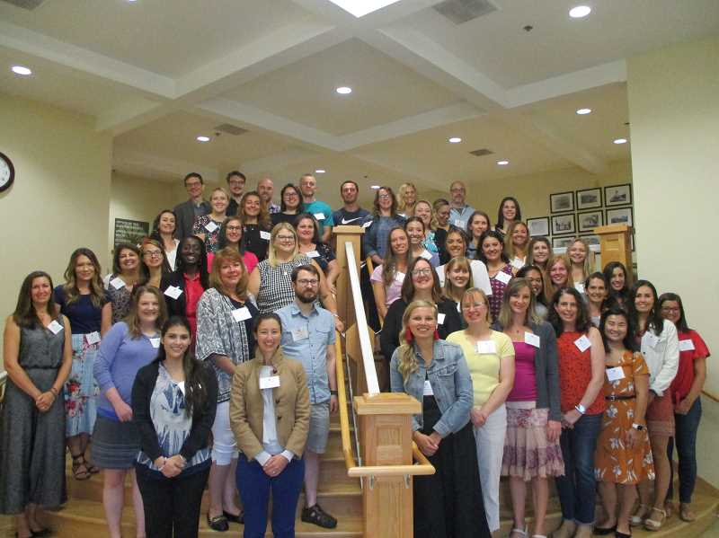 COURTESY PHOTO: ANDREW KILSTROM - The West Linn-Wilsonville School District welcomes new teachers.
