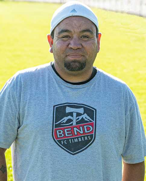 LON AUSTIN/CENTRAL OREGONIAN - Ramone Castenada loves soccer and is excited to share his knowledge of the game with youth. Castenada has both played and officiated soccer. His biggest goal is to make the Cowboys into a close-knit team.