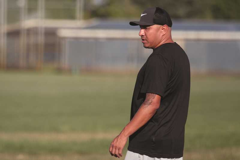 PMG PHOTO: PHIL HAWKINS - Head coaches Ben Gonzalez (pictured) and Joel Estrada said the core of the team has been playing together for the past five years.