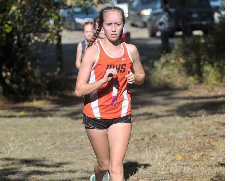PMG FILE PHOTO - Shannon Castleton-Rudolph returns to the Molalla cross country team this season.