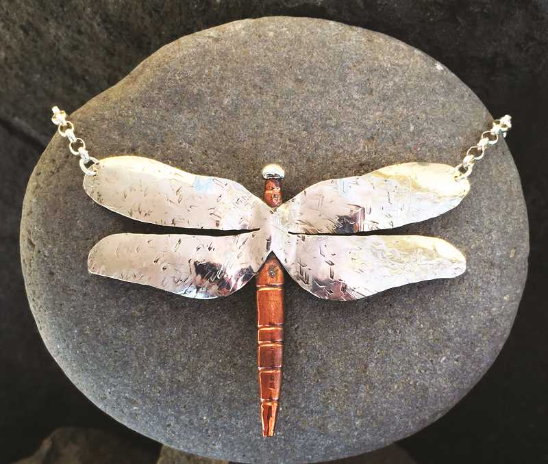 SUBMITTED PHOTO - Jeweler Maggie Bowman's creations are among those on display at the CCC during the Art Harvest preview.