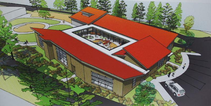 COURTESY PHOTO - If funding can be raised quickly to cover the River Road Expansion Project's shortfall, it will break ground in March and be completed in time for the beginning of the school year in 2020.