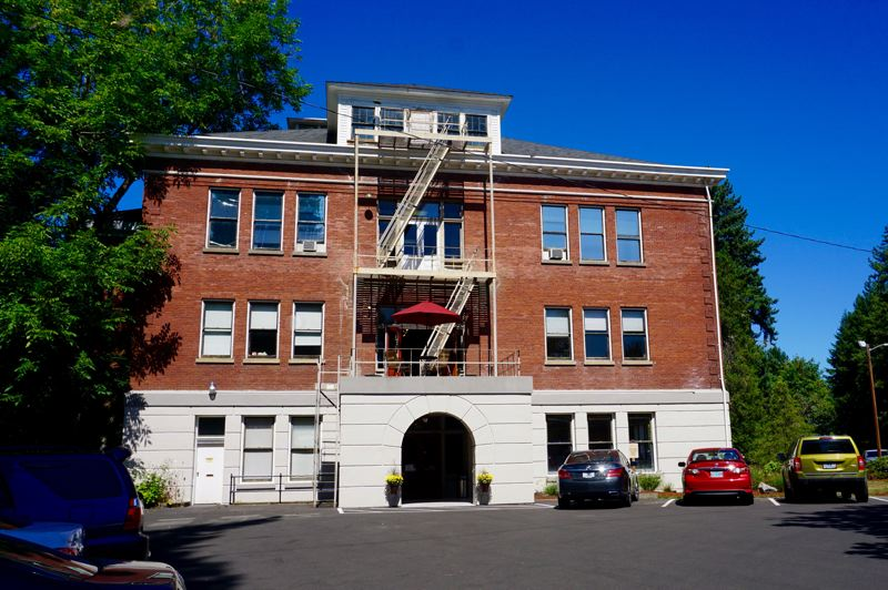 PMG PHOTO: CLAIRE HOLLEY - Harmony Academy is located in the former Christie School near Mary's Woods.