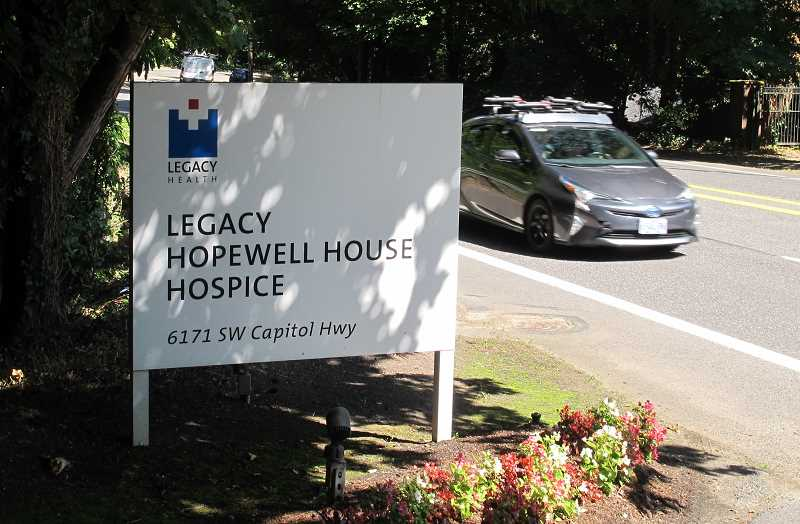 BILL GALLAGHER - The soon-to-close Hopewell Hospice is located a quarter of a mile from Hillsdale.