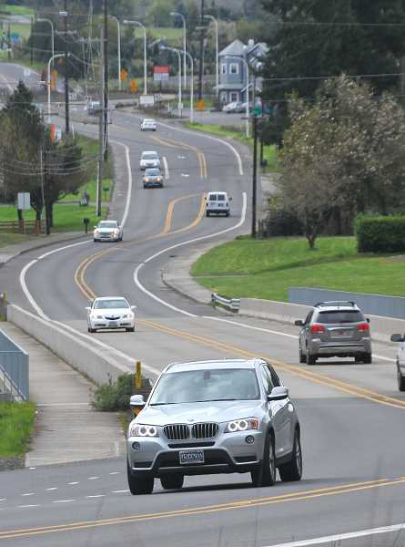 PMG FILE PHOTO - The three-party agreement precludes any of the three cities from adopting concept plans for the area north of the Tualatin River until the I-205 widening project is intiatied or 10 years from the signing of the agreement.