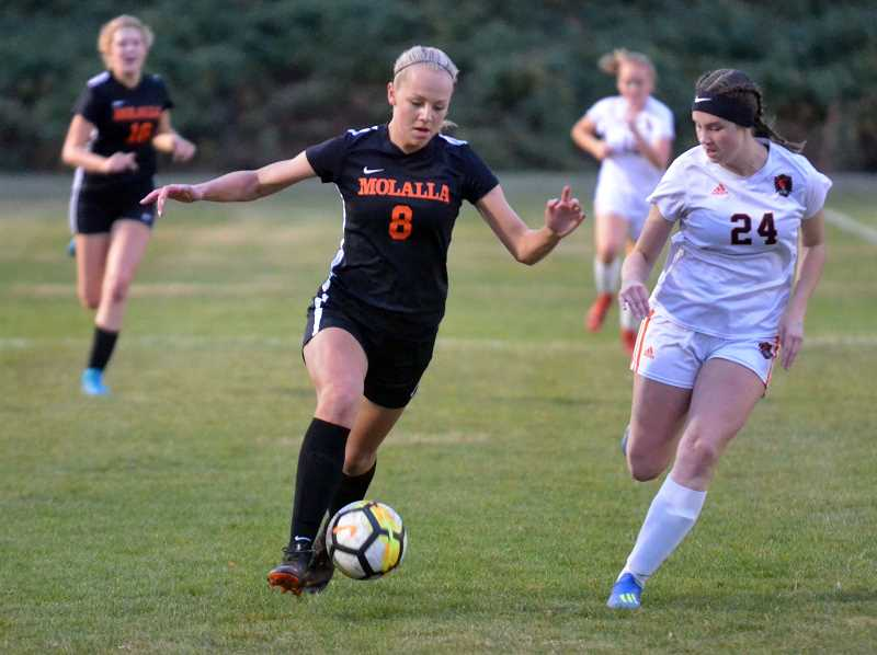 PMG FILE PHOTO - Molalla forward Madeline Lisac returns to the Indians for her senior year.