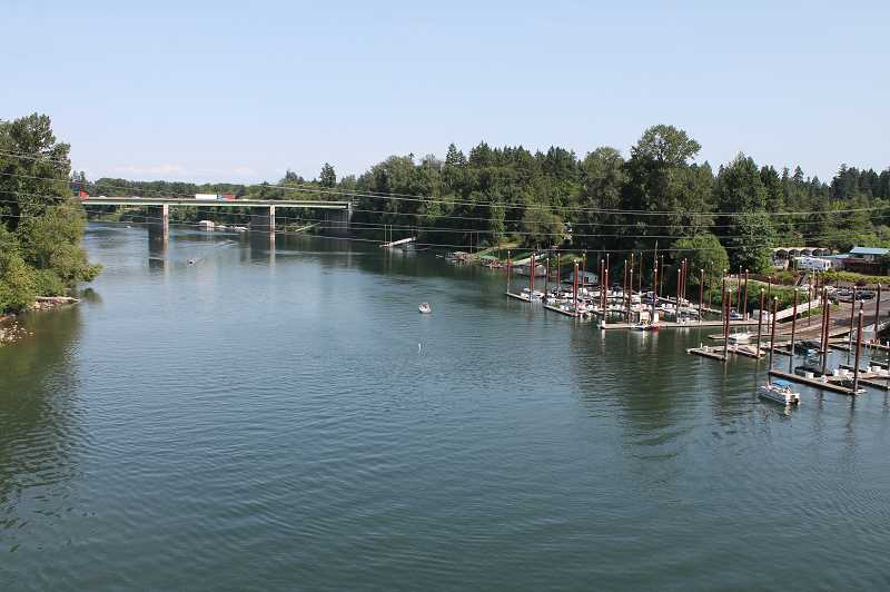 PMG FILE PHOTO - The Newberg Pool, the section of the Willamette River that includes Wilsonville, is continuing to undergo rule changes designed to mitigate the impact of wakes produced from wakesurfing and wakeboarding.