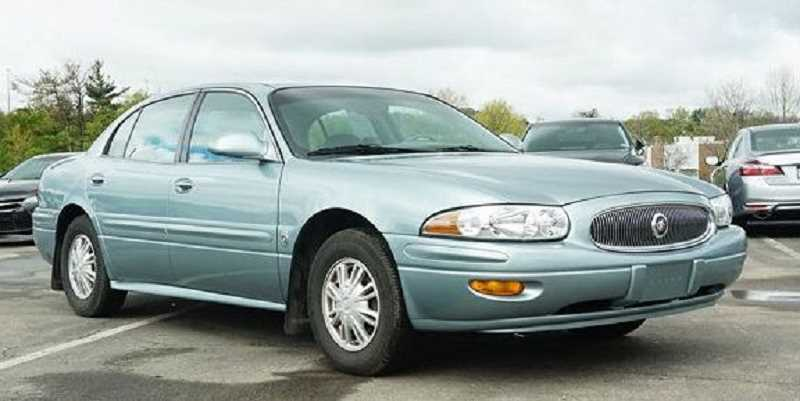 COURTESY PHOTO: CCSO - Pictured is a sample blue 2003 Buick LeSabre.