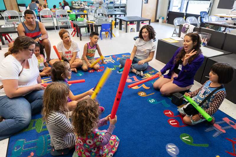 COURTESY PHOTO  - Parents and children will have a chance to attend a 30-minute demonstration of the early childhood program during Youth Music Project's open house.