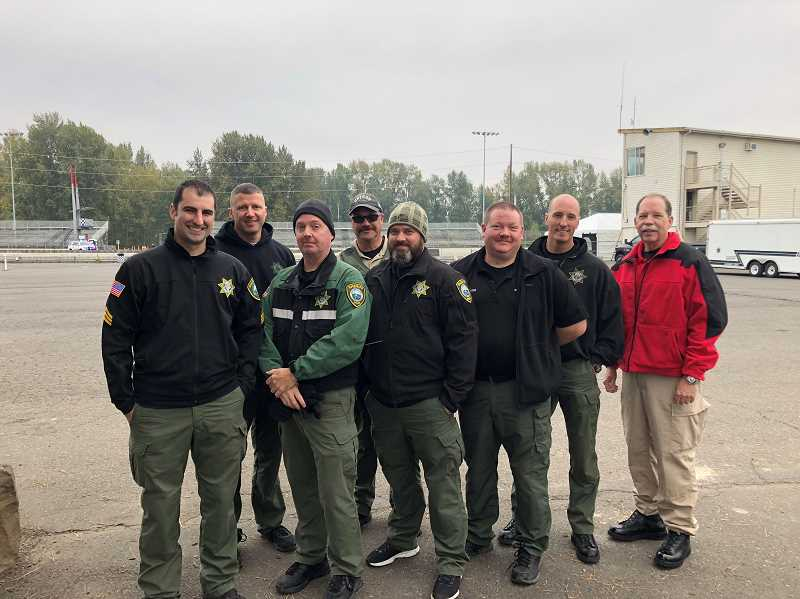 COURTESY PHOTO - Clackamas County Sheriff's Office deputies will drive with teens in the Drive With a Cop event in October.