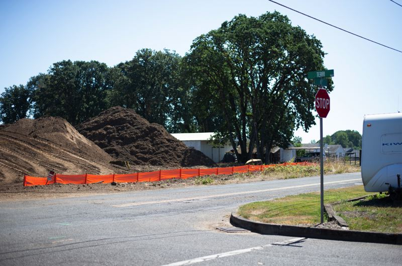 PMG PHOTO: ANNA DEL SAVIO - Builders have started work on a new subdivision along 6th Street in Scappoose. The housing project will result in 20 new single-family, detached homes.