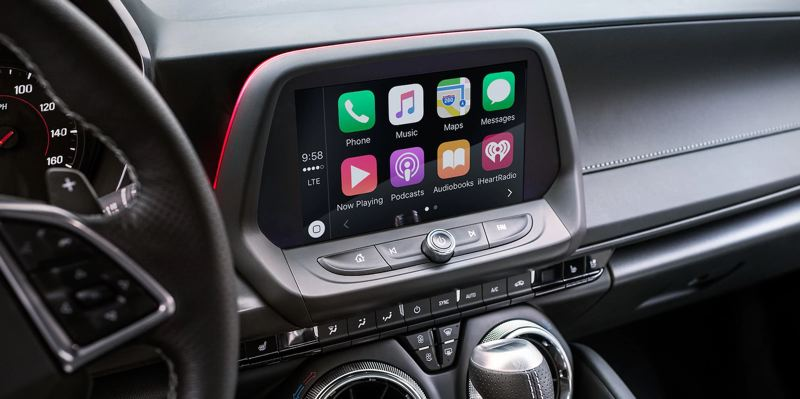 COURTESY CHEVY - Chevy has continuously upgraded its infortainment systems, and the one in the 2019 Camaro is easy to understand and use.