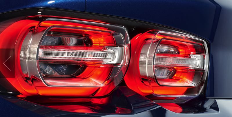 COURTESY CHEVY - New LED taillights with dark lenses are standard on the 2019 Camaro SS.