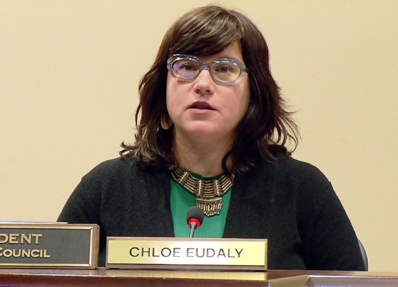 KOIN 6 NEWS - Commissioner Chloe Eudaly is in charge of the Office of Community and Civic Life.