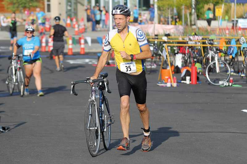 FILE PHOTO - The 12th Annual MAC Dash Sprint Triathlon is back and ready for another year. The popular race moved back a month this year after having the race on Aug. 11 last year. This year the race will be Saturday, Sept. 14.